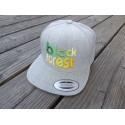 """black forest"" in 3D gestickt Snapback Cap 6 Panel"