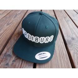 """""""FREIBURG"""" in 3D gestickt Snapback Cap 6 Panel"""