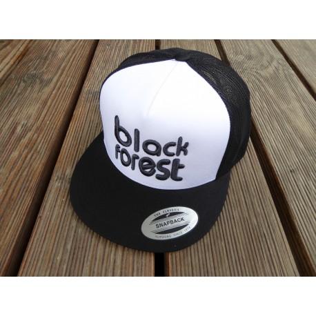 """black forest"" in 3D gestickt Retro Trucker Snapback Cap"