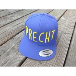 """""""PRECHT"""" in 3D gestickt Snapback Cap 6 Panel"""